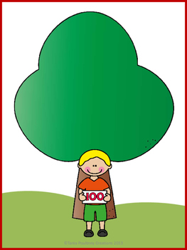 Skip counting in  5's and 10's- Climb the 100 Apple tree