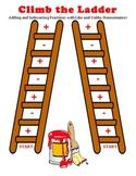 Climb the Ladder - Adding & Subtracting Fractions w/ Like & Unlike Denominators