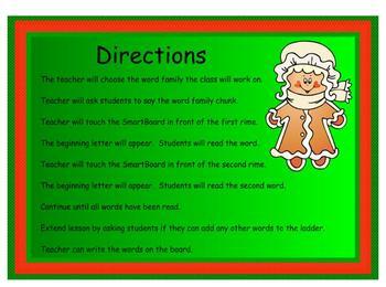 Climb the Word Ladder Happy Holidays