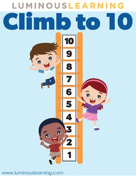 Climb to 10 with Unifix Cube: Fun Addition Game