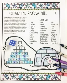 Climb to the Top Articulation: Winter Edition