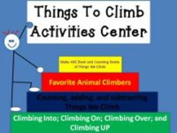 Things to Climb Activities Center