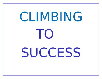 Climbing to Success