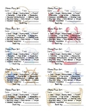Clinic Pass Labels - Nautical Theme