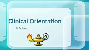 Clinical Orientation