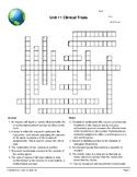 Clinical Trials & Ethics Vocabulary Crossword