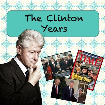 Clinton Years PowerPoint