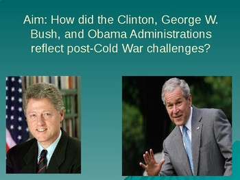 Clinton and W. Bush PowerPoint