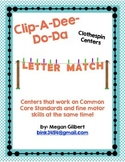 Clip-A-Dee-Do-Dah Letter Matching