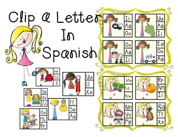Clip The Beginning Spanish Letter Sound