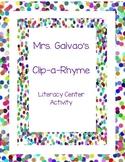 Clip-A-Rhyme Literacy Center