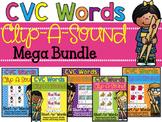 Clip-A-Sound CVC Words {Mega Bundle}