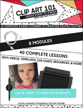 Clip Art 101: From Start to Finish  FREE Course Overview