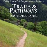 Clip Art * 150 Photographs Trails & Pathways: Life Journeys & Discoveries Await!