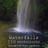 Waterfalls Clip Art * 150 Photographs of Remote & Scenic F