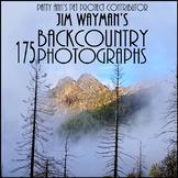 Backcountry Clip Art * 175 Photograph Jpegs: Hike -South O