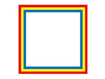 Clip Art: 20 Double-Mat Frames