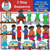 Clip Art - 3 Step Sequence (Mystery Box Apr 2020)