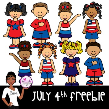 Clip Art~ 4th of July Freebie!