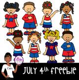 Clip Art~ 4th of July Freebie!