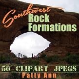 Clip Art Photos Utah Arizona Southwest Land-Rock Forms > 5