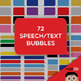 Clip Art: 72 Speech Bubbles!