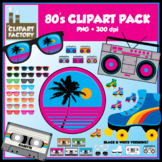 Clip Art: 80's Clipart Pack - Misc