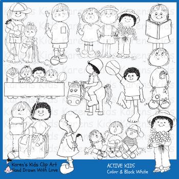 Clip Art ACTIVE KIDS