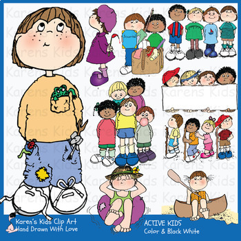 Clip Art ACTIVE KIDS