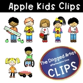 Clip Art:  APPLE KIDS