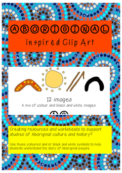 Clip Art - Aboriginal Inspired Symbols
