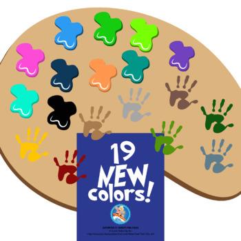 Color Clip Art - About Color Mixing
