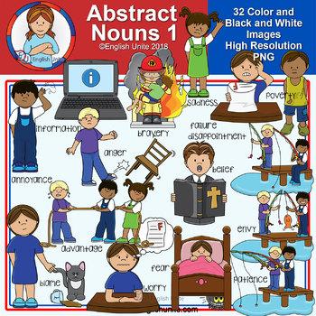 Clip Art - Abstract Nouns 1