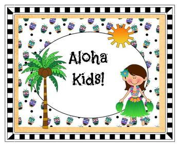 Clip Art - Aloha Kids Collection