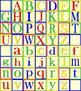 Clip Art Alphabet Blocks Neutral Backgrounds