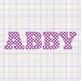 Clip Art: Pokla Dot Alphabet