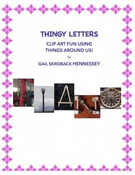 Clipart: Alphabet(THINGY LETTERS!)
