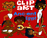 Clip Art Ancient Egypt Music & Dancing