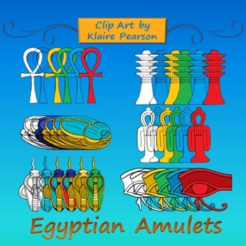 Clip Art: Ancient Egyptian Amulets