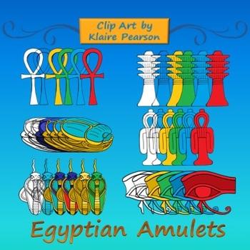 Clip Art: Ancient Egyptian Amulets