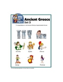Clip Art Ancient Greece Set 3 - Includes Greek Mythology