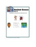 Clip Art Ancient Greece Set 8 - Includes Greek Mythology