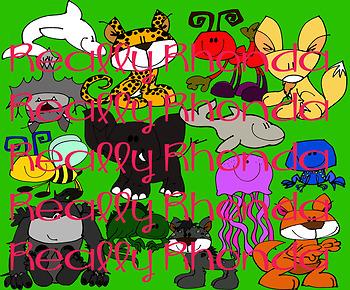 Clip Art Animals A-Z