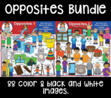 Clip Art - Antonyms/Opposites Bundle