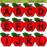 Clip Art Apple Alphabet
