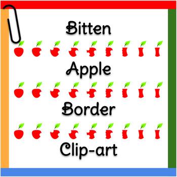 Clip Art: Apple to Apple Core Graphic