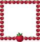 Clip Art-Apples Borders & Frames