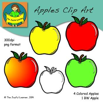 Clip Art: Apples (FREEBIE)