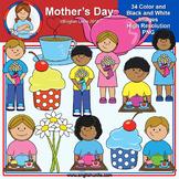 Clip Art - April Freebie (Mother's Day)