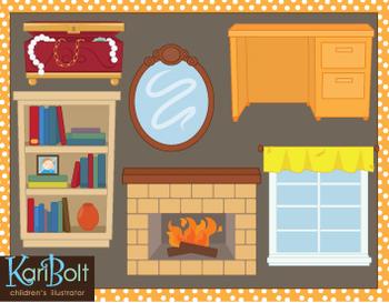 Clip-Art Around the Home 2